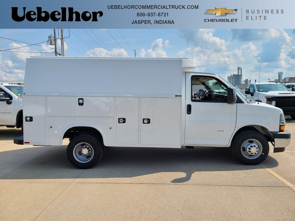 2020 Chevrolet Express 3500 4x2, Knapheide KUV Service Utility Van #ZT8600 - photo 1