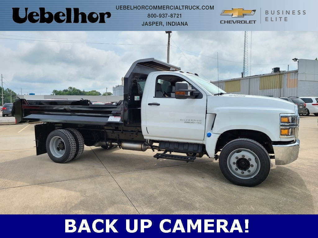 2020 Chevrolet Silverado 4500 Regular Cab DRW 4x2, Knapheide Dump Body #ZT8601 - photo 1