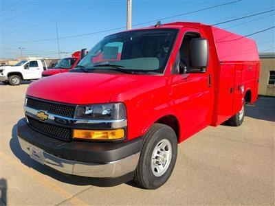 2020 Chevrolet Express 3500 4x2, Knapheide KUV Service Utility Van #ZT8628 - photo 3