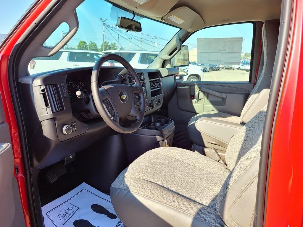 2020 Chevrolet Express 3500 4x2, Knapheide KUV Service Utility Van #ZT8629 - photo 9