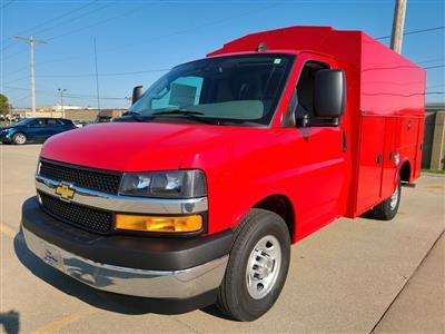 2020 Chevrolet Express 3500 4x2, Knapheide KUV Service Utility Van #ZT8629 - photo 3