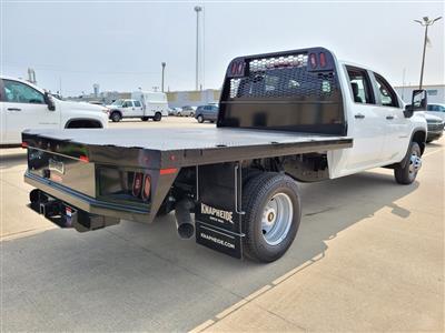 2020 Chevrolet Silverado 3500 Crew Cab DRW 4x4, Knapheide PGNB Gooseneck Platform Body #ZT8741 - photo 2