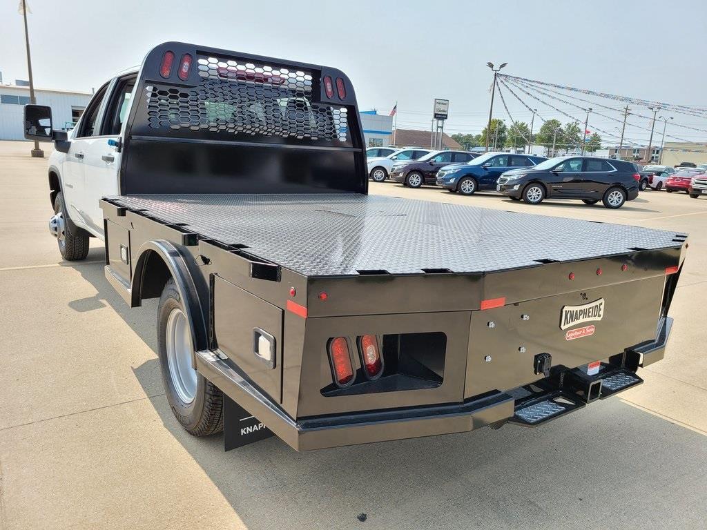 2020 Chevrolet Silverado 3500 Crew Cab DRW 4x4, Knapheide PGNC Gooseneck Platform Body #ZT8777 - photo 6