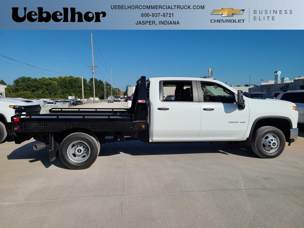 2020 Chevrolet Silverado 3500 Crew Cab DRW 4x4, Hillsboro GII Steel Platform Body #ZT8812 - photo 3
