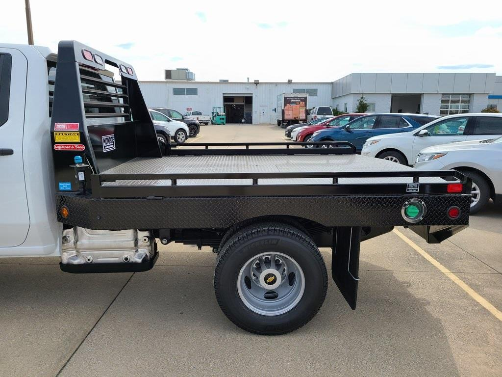 2020 Chevrolet Silverado 3500 Crew Cab DRW 4x4, Hillsboro GII Steel Platform Body #ZT8813 - photo 5