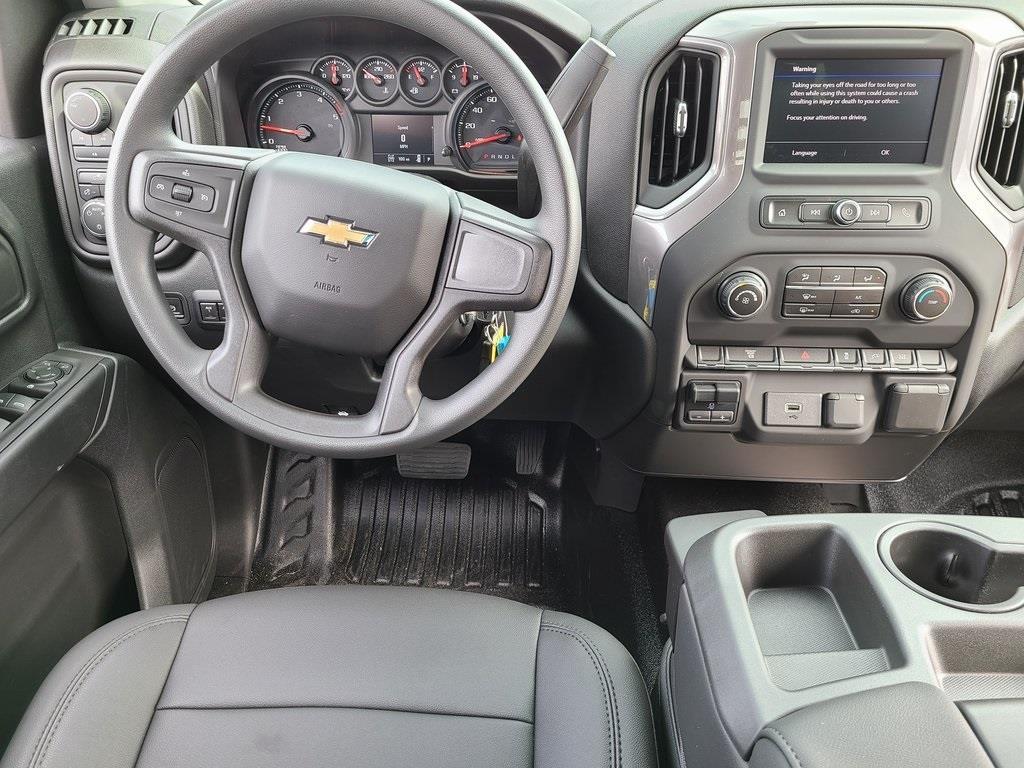 2020 Chevrolet Silverado 3500 Crew Cab DRW 4x4, Hillsboro GII Steel Platform Body #ZT8813 - photo 9