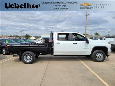 2020 Chevrolet Silverado 3500 Crew Cab DRW 4x4, Hillsboro GII Steel Platform Body #ZT8813 - photo 3