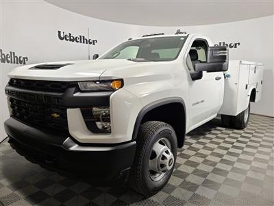 2020 Chevrolet Silverado 3500 Regular Cab DRW 4x4, Knapheide Steel Service Body #ZT8843 - photo 1