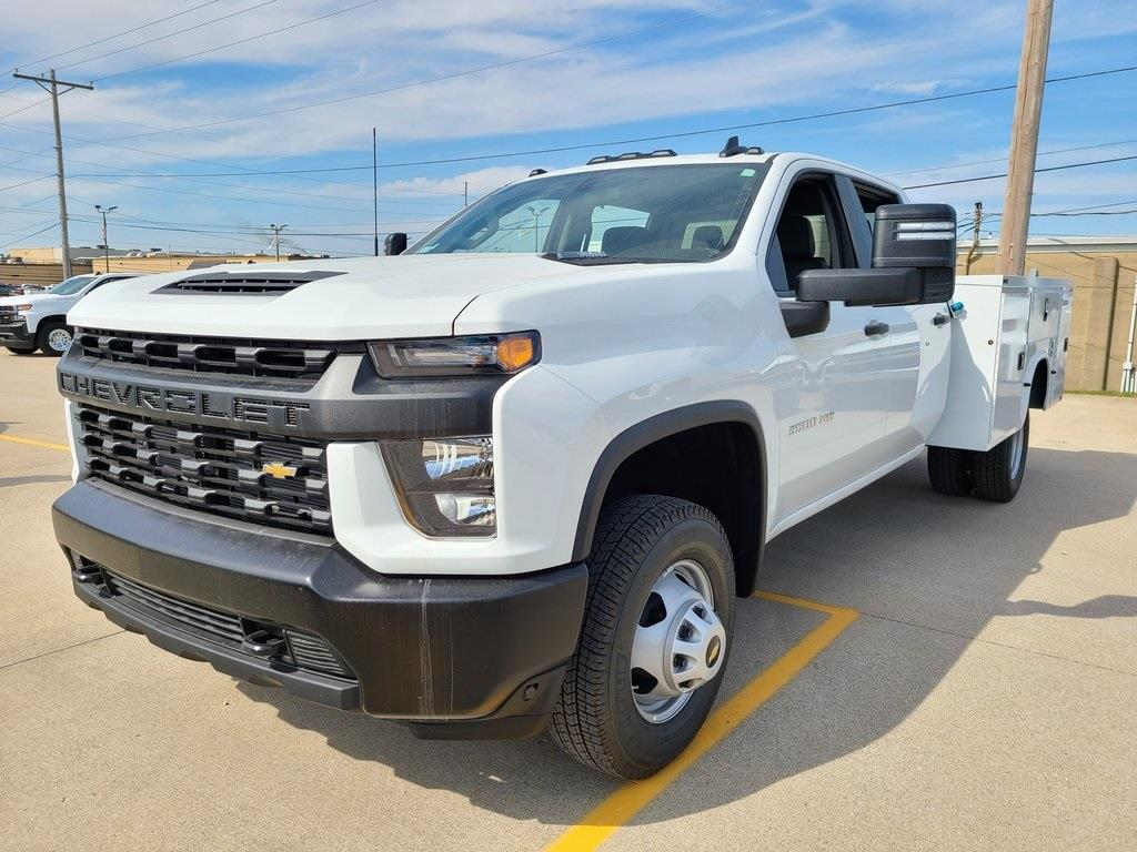 2020 Chevrolet Silverado 3500 Crew Cab DRW 4x4, Knapheide Steel Service Body #ZT8960 - photo 1