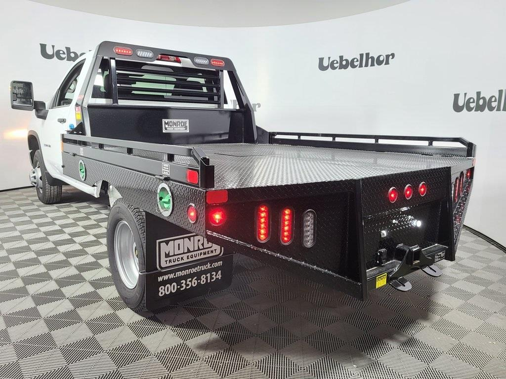 2020 Chevrolet Silverado 3500 Regular Cab DRW 4x4, Hillsboro GII Steel Platform Body #ZT9094 - photo 2