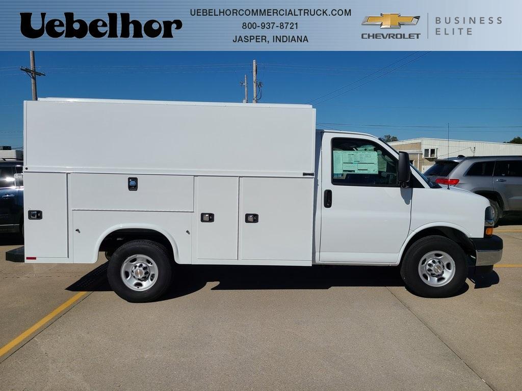 2020 Chevrolet Express 3500 4x2, Knapheide KUV Service Utility Van #ZT9206 - photo 1