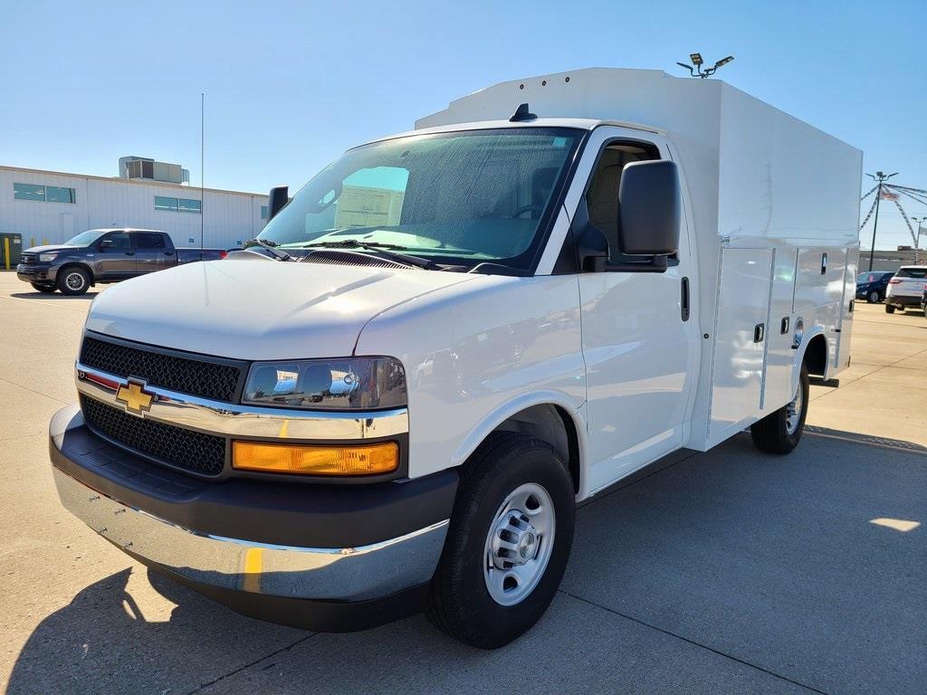 2020 Chevrolet Express 3500 4x2, Knapheide KUV Service Utility Van #ZT9206 - photo 3