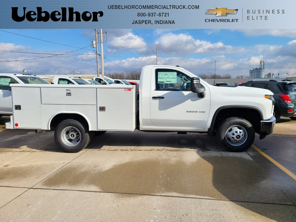 2020 Chevrolet Silverado 3500 Regular Cab DRW 4x4, Reading Service Body #ZT9232 - photo 1