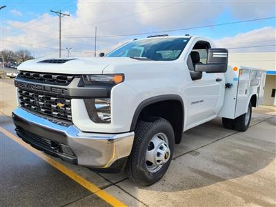 2020 Chevrolet Silverado 3500 Regular Cab DRW 4x4, Reading Service Body #ZT9232 - photo 3