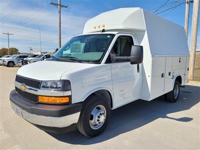 2020 Chevrolet Express 3500 4x2, Knapheide KUV Service Utility Van #ZT9278 - photo 3