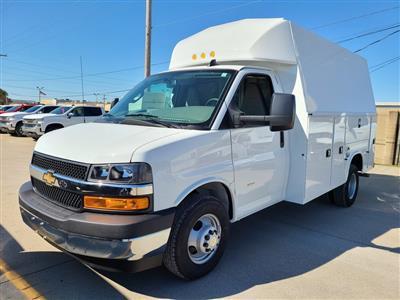 2020 Chevrolet Express 3500 4x2, Knapheide KUV Service Utility Van #ZT9286 - photo 3
