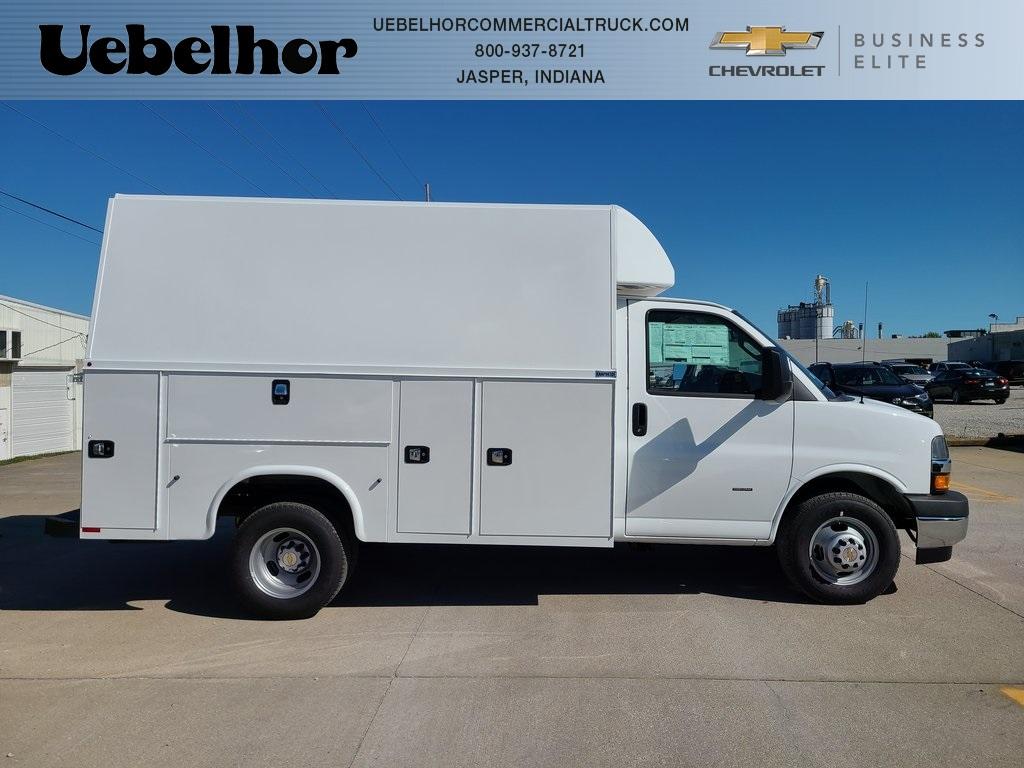 2020 Chevrolet Express 3500 4x2, Knapheide Service Utility Van #ZT9289 - photo 1