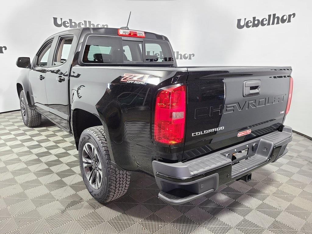 2021 Chevrolet Colorado Crew Cab 4x4, Pickup #ZT9410 - photo 2
