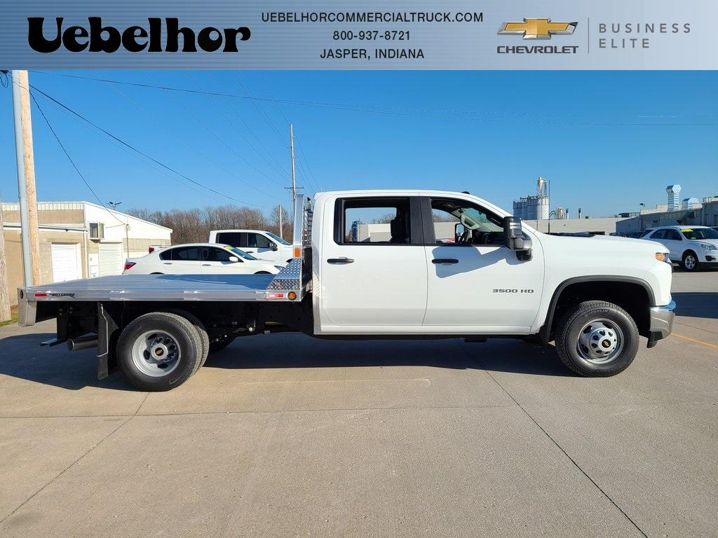 2020 Chevrolet Silverado 3500 Crew Cab DRW 4x4, Hillsboro 2000 Series Aluminum Platform Body #ZT9425 - photo 3