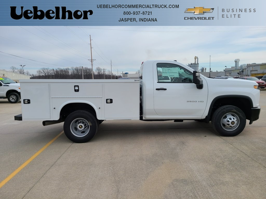 2020 Chevrolet Silverado 3500 Regular Cab DRW 4x4, Knapheide Steel Service Body #ZT9749 - photo 1