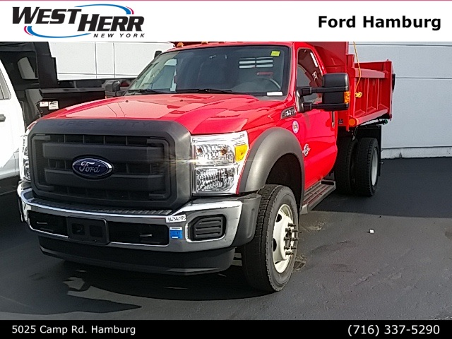 2016 F-550 Regular Cab DRW 4x4, Air-Flo Dump Body #FHF163648 - photo 4