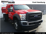 2016 F-550 Regular Cab DRW 4x4, Air-Flo Dump Body #FHF163648 - photo 1