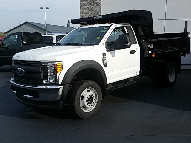 2017 F-550 Regular Cab DRW 4x4, Rugby Dump Body #FHF170961 - photo 2