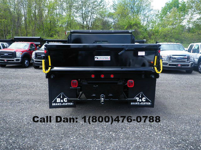 2016 F-550 Regular Cab DRW 4x4, Crysteel E-Tipper Dump Body #8488 - photo 2