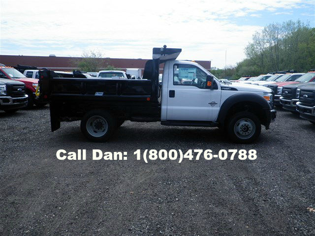 2016 F-550 Regular Cab DRW 4x4, Crysteel E-Tipper Dump Body #8488 - photo 3