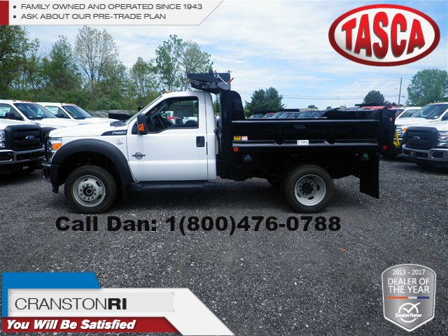 2016 F-550 Regular Cab DRW 4x4, Crysteel E-Tipper Dump Body #8488 - photo 1
