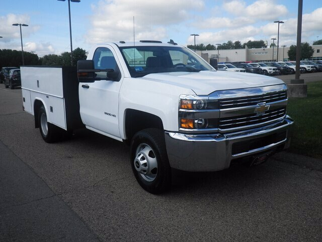 2017 Chevrolet Silverado 3500 Regular Cab DRW 4x4, Service Body #CG5748A - photo 1