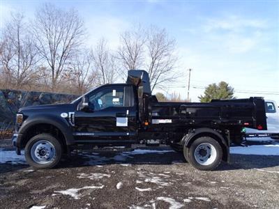 2019 Ford F-550 Regular Cab DRW 4x4, Rugby Eliminator LP Steel Dump Body #CG6229 - photo 1