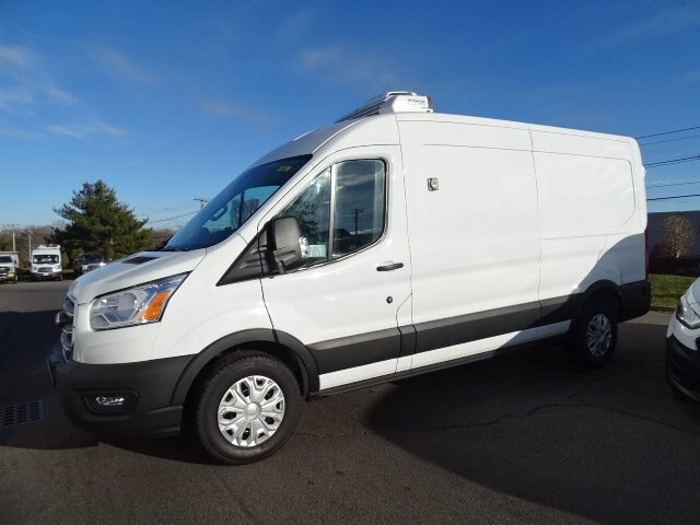 2020 Ford Transit 250 Med Roof 4x2, Thermo King Refrigerated Body #CG7161 - photo 3