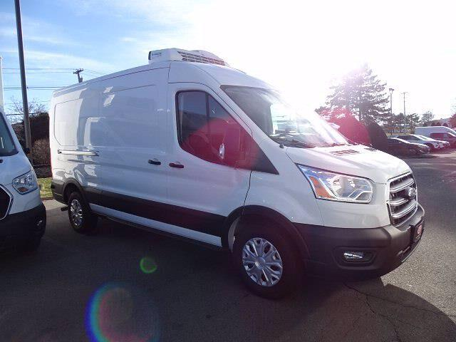 2020 Ford Transit 250 Med Roof 4x2, Thermo King Refrigerated Body #CG7161 - photo 9