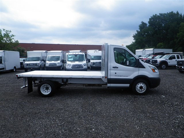 2015 Transit 350 HD DRW, Duramag Platform Body #CR0013 - photo 3