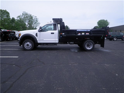 2017 F-550 Regular Cab DRW 4x4, Reading Marauder Standard Duty Dump Dump Body #CR1449 - photo 2