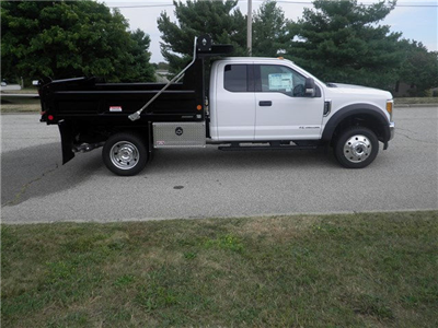 2017 F-550 Super Cab DRW 4x4, Reading Marauder Standard Duty Dump Dump Body #CR1450 - photo 3