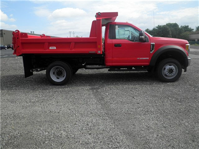 2017 F-550 Regular Cab DRW 4x4, Reading Marauder Standard Duty Dump Dump Body #CR1745 - photo 3