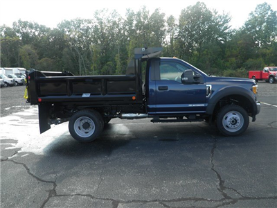 2017 F-550 Regular Cab DRW 4x4, Crysteel E-Tipper Dump Body #CR1955 - photo 3