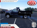 2017 F-550 Regular Cab DRW 4x4, Crysteel E-Tipper Dump Body #CR1955 - photo 1