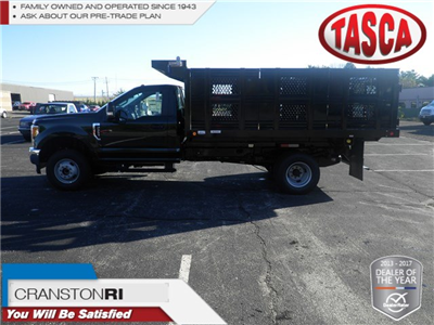 2017 F-350 Regular Cab DRW 4x4, Reading Redi-Rack Stake Bed #CR2020 - photo 1