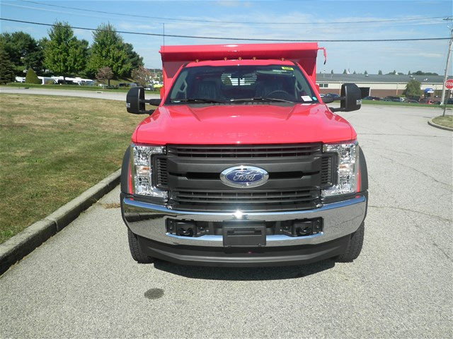 2017 F-550 Regular Cab DRW 4x4, Rugby Dump Body #CR2063 - photo 4
