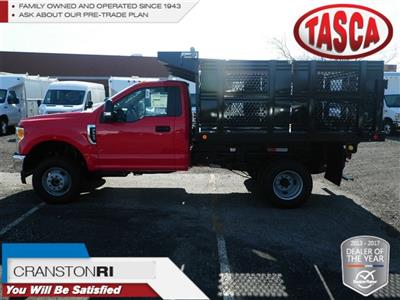 2017 F-350 Regular Cab DRW 4x4,  Reading Steel Stake Bed #CR2205 - photo 1