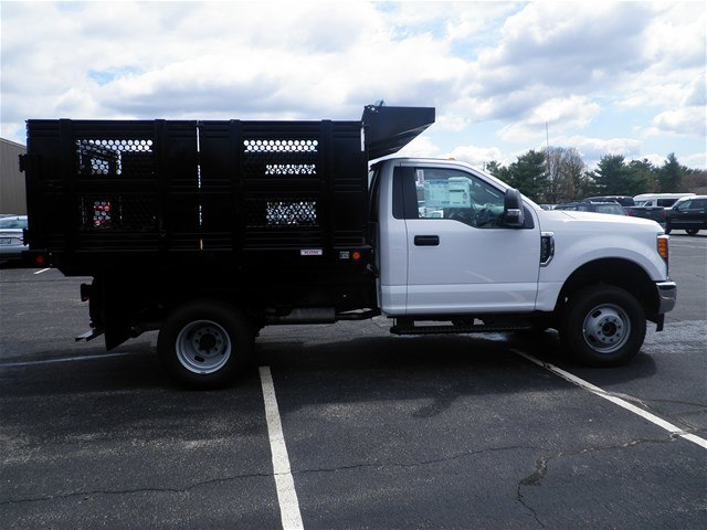 2017 F-350 Regular Cab DRW 4x4,  Reading Stake Bed #CR2446 - photo 3
