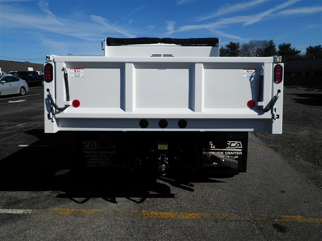 2017 F-550 Regular Cab DRW 4x4,  Rugby Dump Body #CR2810 - photo 2