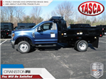 2018 F-350 Regular Cab DRW 4x4,  Reading Dump Body #CR2873 - photo 1