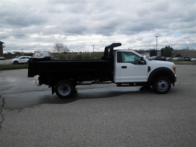 2017 F-550 Regular Cab DRW 4x4,  Rugby Eliminator LP Steel Dump Body #CR3158 - photo 3