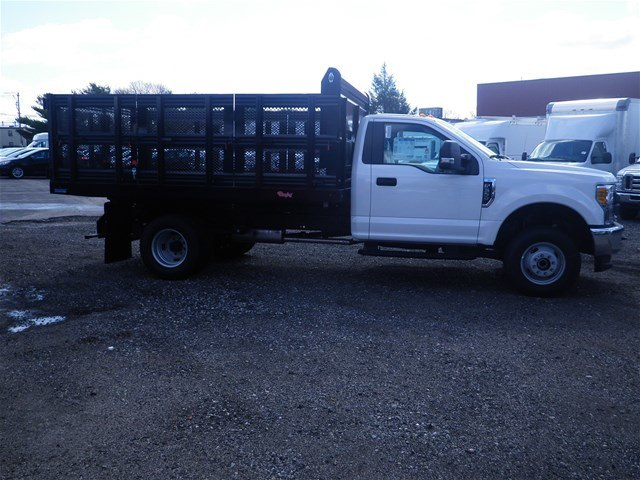 2017 F-350 Regular Cab DRW 4x4,  Rugby Landscape Dump #CR3349 - photo 3
