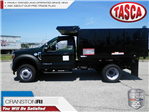 2018 F-550 Regular Cab DRW 4x4,  Reading Landscaper SL Landscape Dump #CR3361 - photo 1
