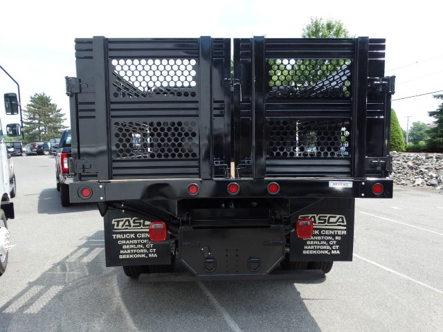 2018 F-350 Regular Cab DRW 4x4,  Reading Redi-Rack Stake Bed #CR3837 - photo 3